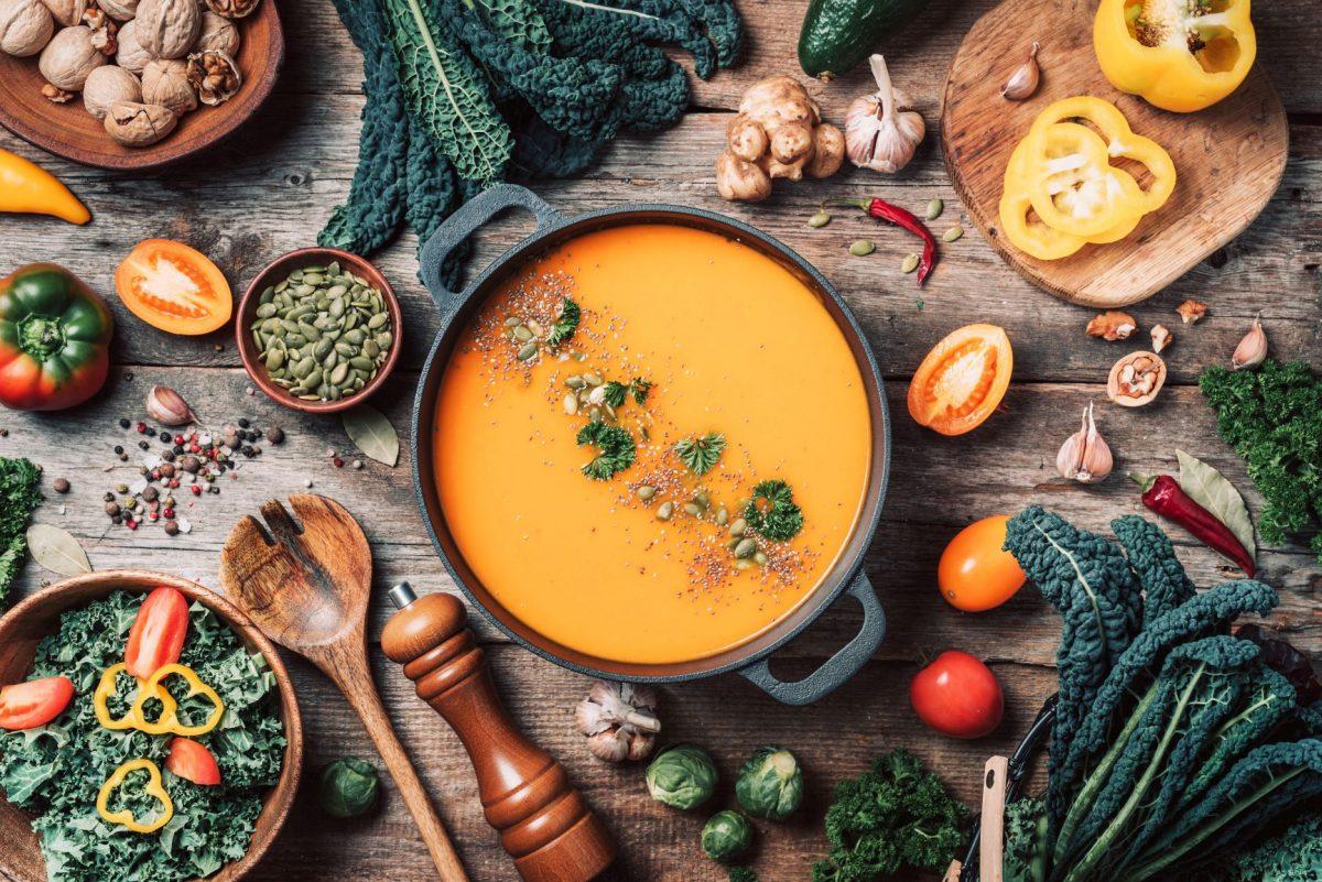 vegan-diet-autumn-harvest-healthy-clean-food